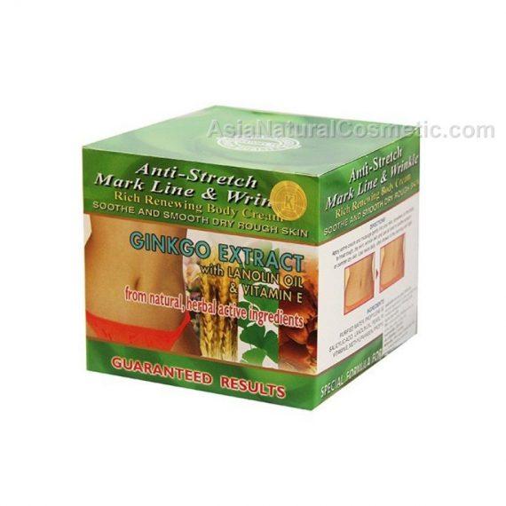 Крем для тела от растяжек и дряблой кожи с экстрактом Гинкго Билоба (Anti-Stretch Mark Line & Wrinkle Ginkgo Extract with Lanolin Oil & Vitamin E)