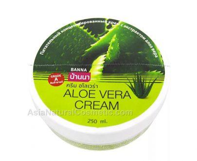 Крем для тела с экстрактом Алое Вера (BANNA Aloe Vera Cream)