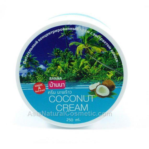 Крем для тела с кокосовым маслом (BANNA Coconut Cream)