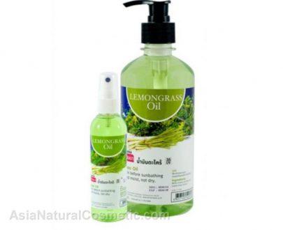Массажное масло для тела Лемонграсс (BANNA Lemongrass Oil)