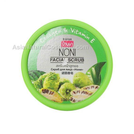Скраб для лица с экстрактом Нони (BANNA Face Scrub Noni)