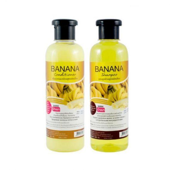 Шампунь+кондиционер с экстрактом Банана (Banana Shampoo+Conditioner)
