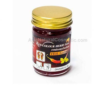 Красный жгучий бальзам с перцем Чили (Red Hot Chili Balm)