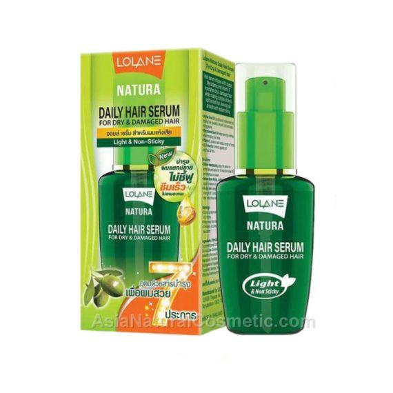 Натуральная сыворотка для сухих и поврежденных волос (LOLANE Natura Daily Hair Serum For Dry & Damaged Hair)