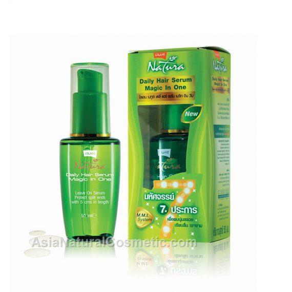 Натуральная сыворотка для кончиков волос (LOLANE Natura Daily Hair Serum Magic In One)