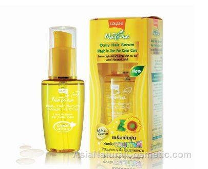 Натуральная сыворотка для окрашенных волос (LOLANE Natura Daily Hair Serum Magic In One For Color Care)