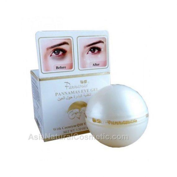 Гель для кожи вокруг глаз с Q10 и витаминами E, B5 (PANNAMAS Eye Gel Coenzym Q10, Vitamin E, B5)