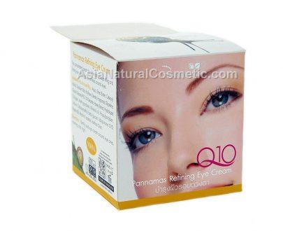 Крем для кожи вокруг глаз с коэнзимом Q10 (PANNAMAS Refining Eye Cream Q10)