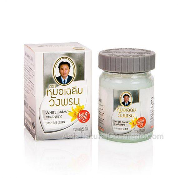 Тайский белый бальзам ВАНГ ПРОМ (WANG PROM White Balm)