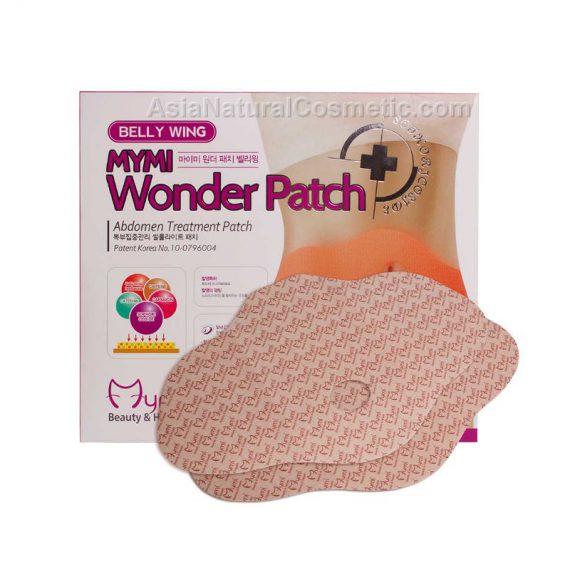 Пластырь для похудения в области живота и боков (MYMI Wonder Patch BELLY WING)
