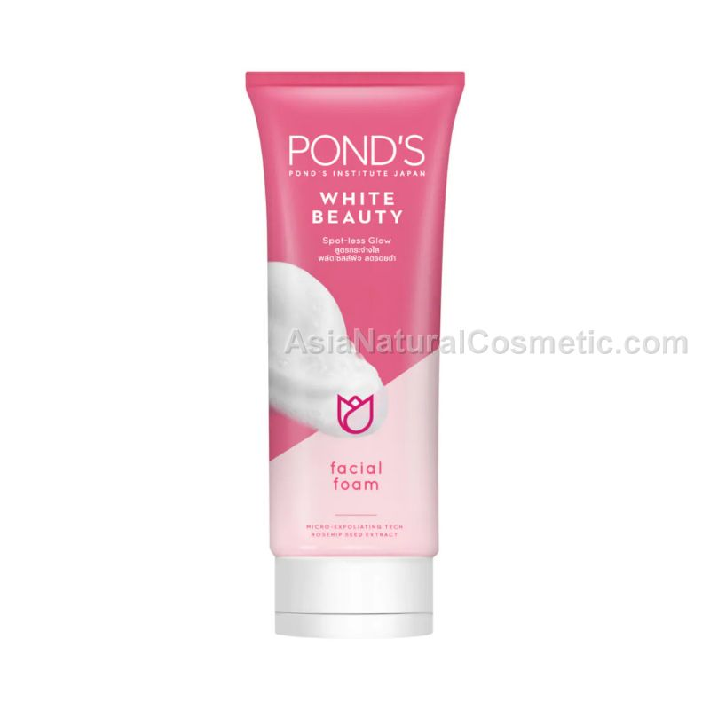 Легкая очищающая пенка для умывания (POND'S White Beauty Spot-less Glow Facial Foam)