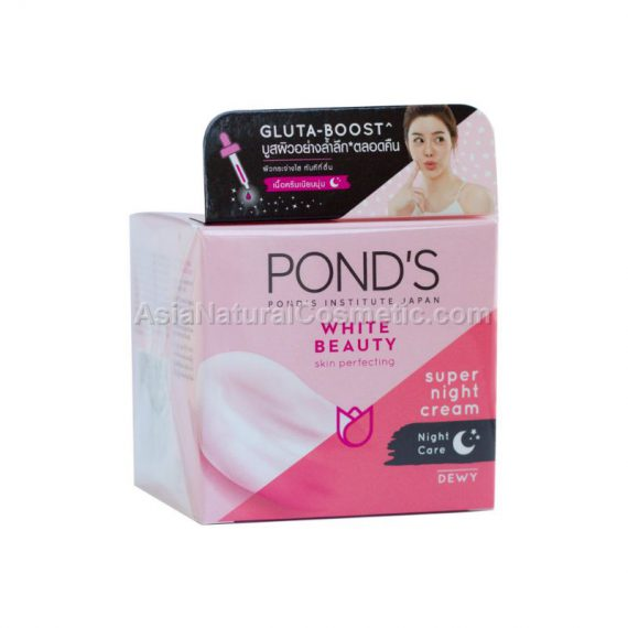 Ночной увлажняющий крем POND'S White Beauty Skin Perfecting Super Night Cream