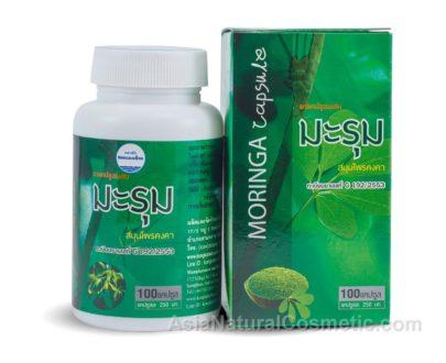 Моринга масличная (Moringa Oleifera) – для нормализации давления и уровня сахара в крови