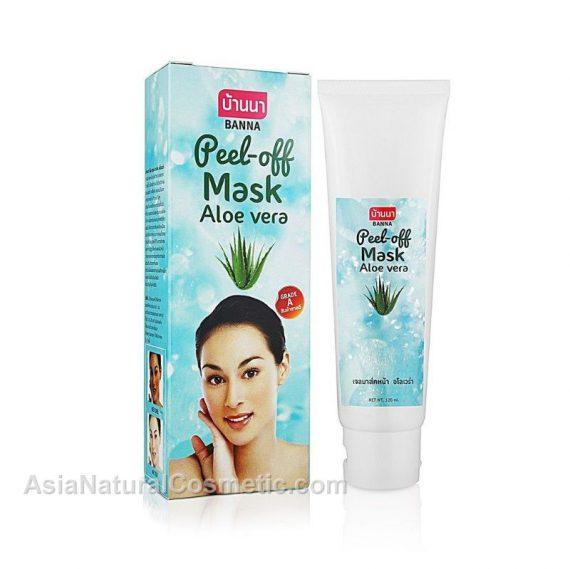 Очищающая маска-пленка для лица с алое вера (Peel-Off Mask Aloe Vera)