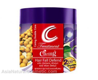 Восстанавливающая маска для волос для защиты от выпадения (CARING Treatment Hair Fall Defend)