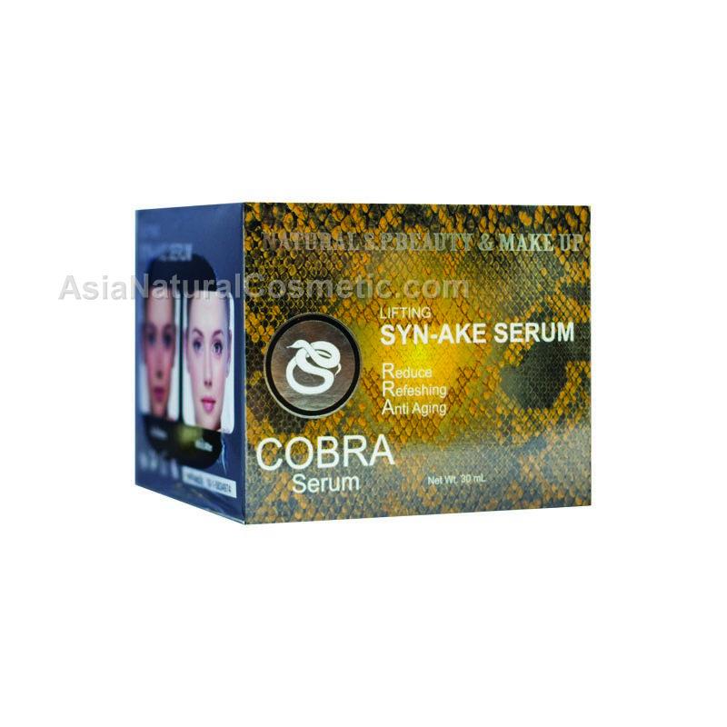 Интенсивная подтягивающая сыворотка для лица с эффектом ботокса на основе яда змеи (NATURE REPUBLIC Cobra Serum SYN-AKE)
