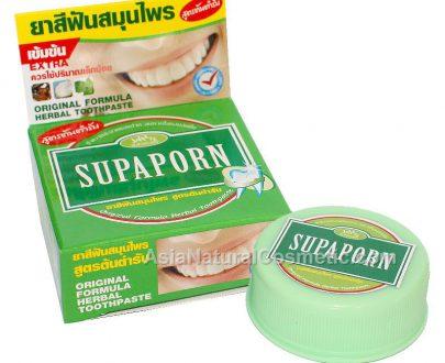 Натуральная зубная паста с борнеолом SUPAPORN Herbal Toothpaste
