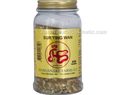 Змеиный препарат для омоложения и лечения дыхательных путей на основе натурального жира сиамской кобры Сур Еио Ван (Ya Sur Ying Wan)