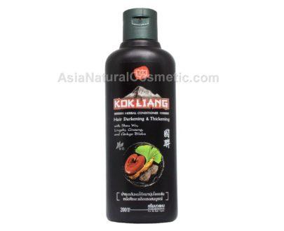 Травяной кондиционер для темных волос (Kokliang Herbal Conditioner Hair Darkening Thickening)