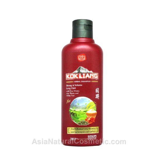 Тайский шампунь для роста и объема волос (Kokliang Shampoo Strong & Volume Long Hair)