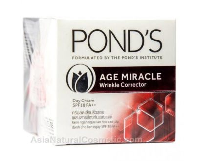 Дневной антивозрастной крем-корректор морщин c ретинолом для лица (POND'S Age Miracle Wrinkle Corrector Day Cream SPF 18 PA++)