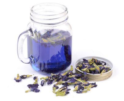 Тайский синий чай Анчан (Клитория тройчатая или Мотыльковый горошек, Butterfly Pea Tea)